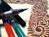 Pentel, Colour Brush Seppia