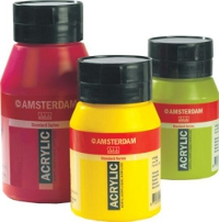 Talens, Amsterdam 1000ml. Azo Yellow Medium