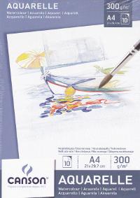 Canson, Aquarelle Blocco A4 acquerello