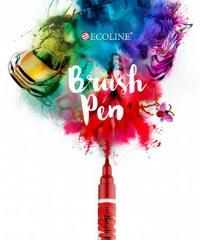 Ecoline, Brush Pen Prussian Blue