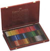 Confezioni Faber-Castell Crete Polychromos Regal 100 colori