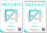 Fabriano, Blocco Schizzi Blocco Schizzi mis.14,8x21 cm. Con spirale.