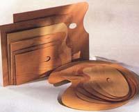 GR Tavolozza ovale mis.28x37 cm.