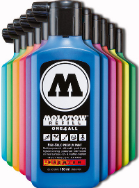 Molotow, One4All, Refill 180ml. Ceramic Light Pastel 202