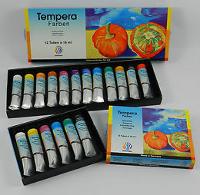 Lukas Nerchau, Tempera Set da 6 colori assortiti