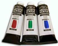 Winsor & Newton, Artists Acrylic Giallo Medio (Azoico)