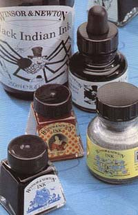 Winsor&Newton, Inks Rosso Scuro